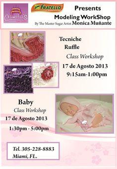 Monica Muñante Classes in Camila's Cake supply: 305-228-8883