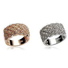 moda feminina anel completamente-jóias - BRL R$ 3,39