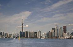 Dónde sacar la foto del skyline de Toronto #toronto #canada #foto#viaje #tip #skyline #cntower