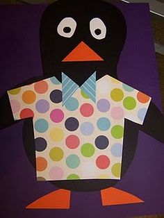 Tacky the Penguin art activity
