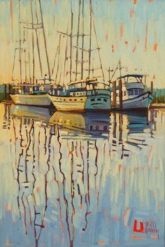 """Carolina Morning,"" by René Wiley by René Wiley Gallery Oil ~ 30 x 20"