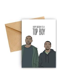 Top Boy Birthday Card | Yo Crackers