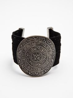 Free People Embossed Disc Bracelet , $28.00. This is awesome