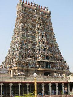 Meenakshi Amman temple  Madurai, Tamil Nadu, India
