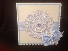 The brand new Butterfly circle doily by Tonic Studios ....launches sat 11 th January 2014
