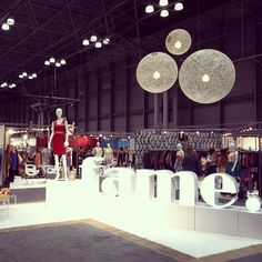Here we are @ day 2 of the Fame show in Manhattan!