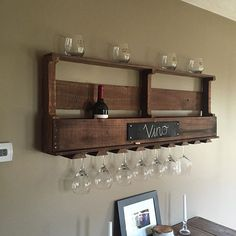 Wine rack #2 out of reclaimed pallet wood. #reclaimed #wine #winerack #rustic #rusticlife #rusticdecor #justaguyplayingwithwood #wood #woodworking #woodworkingporn