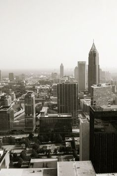 Atlanta skyline...had a blast ..even though I got lost me driving in strange city yeahhhh not good times