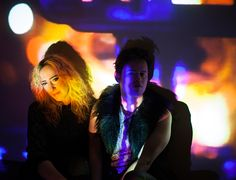 """After a seemingly endless winter, we're all looking forward to warmer days (just not today, East Coast).Brooklyn duo Clementine and the Galaxy put the search for sun into song on their new song """"Heart Of Stone,"""" off their upcoming Midnight Machine EP. It's a soaring piece of synth-pop, balancing Mike MacAllister's jewel-toned production against Julie Hardy's powerful vocals. Previously tapped as a backing vocalist for TV performances fromSt. Vincent and Ellie Goulding, Hardy's voice is a…"""