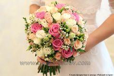 Стильные свадебные букеты невесты в Минске, купить букет невесты в Минске. - Свадебные букеты невесты в Минске, оформление свадебного зала тканями, живыми цветами, цветочные композиции.
