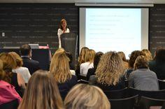 Conferencia de la Dra Natalia Eres Estrés en la Alta Dirección. Patrocinada por Homeo Boiron