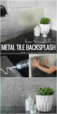 Metal backlash