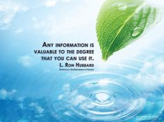 L. Ron Hubbard Quotes and Desktop Backgrounds - Real Scientology ...