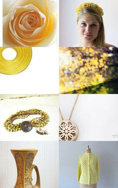 seasons of yellow by Kristin on Etsy--Pinned with TreasuryPin.com