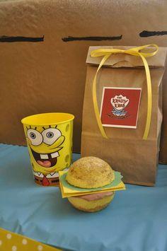 SpongeBob Birthday Party | CatchMyParty.com