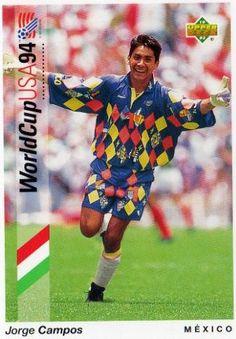 Jorge Campos, Mexico World Cup 1994 #idolos | personajes | #lideres | pachucochilango.com