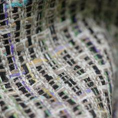 100% Silk Tweed