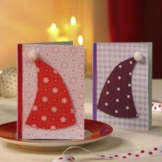 Karten basteln: Weihnachtsgrüße per Post