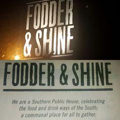 Fodder & Shine in Seminole Heights #LoveMyHeights