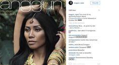 Gaya Eksotis Anggun C Sasmi Disebut Mirip Orang India - ShowBiz Liputan6.com