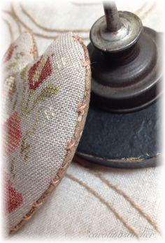 CarolinaStitcher~ Faye.... Subtle finishing touches make stitched pieces special~