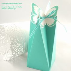 Papercraft With Crafty: Butterfly Faceted Box