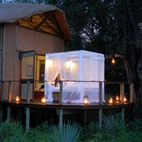 Star bed at Sanctuary Baines' Camp in Botswana - Another reason I want to go here for our 10 year wedding anniversary.