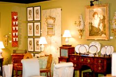 The Charleston Antiques Show, March 20-22, 2015 and Preview Party March 19. In 2016 I hope it's just the slightest bit later in  March!!
