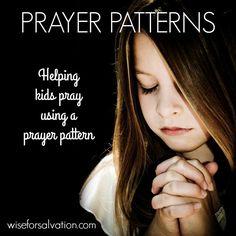 A simple way to help kids pray (+ free printables!)