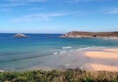 Crantock Beach, Cornwall - looking East