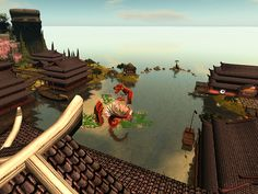 Harbor View Harbor View, Spirit World, Bonsai, Sun Lounger, Mystic, Lotus, Waterfall, Fantasy, Landscape