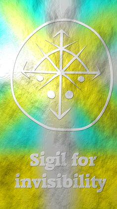 Sigil created by wolf of antimony Magic Symbols, Spiritual Symbols, Viking Symbols, Egyptian Symbols, Viking Runes, Ancient Symbols, Wiccan Spell Book, Witch Spell, Chakras