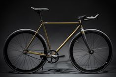 Contender - Gold : Fixies & Fixed Gear Bikes | State Bicycle Co.