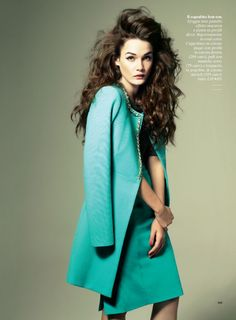 Jes Models Springs Key Pieces for Glamour Italy February 2013