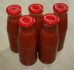 Tomaten einkochen - Rezept - Anleitung - Tomatenmark selber machen - selbst gemachte Tomatensoße einkochen