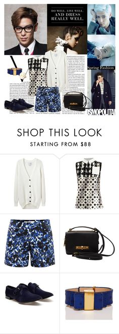 """T.O.P"" by jenica35 ❤ liked on Polyvore featuring Victoria Beckham, Levi's, Each X Other, Peter Pilotto, Erdem, Marc by Marc Jacobs, Alexander Wang, Kate Spade and Oscar de la Renta"