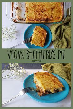 Vegan Shepherd's Pie - Not Just Soy Vegan Shepherds Pie, My Recipes, Mashed Potatoes, Vegetables, Whipped Potatoes, Smash Potatoes, Veggie Food, Vegetable Recipes, Veggies