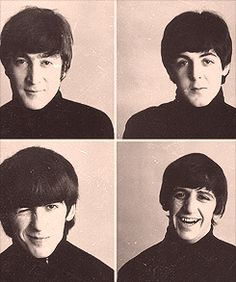 The Beatles...my first true loves♥♥