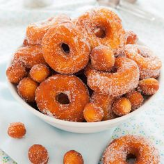 Craving a soft, fluffy, yeast raised donut? These have just the right amount of crispy on the outside with a soft pillowy inside, and taste incredible. They rival the donuts at your favorite donut sho