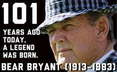 Happy Birthday, Coach Bryant