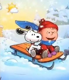 Charlie and Snoopy sledding easter images Gifs Snoopy, Snoopy Quotes, Charlie Brown Y Snoopy, Charlie Brown Christmas, Peanuts Cartoon, Peanuts Snoopy, Peanuts Christmas, Christmas Art, Christmas Cookies
