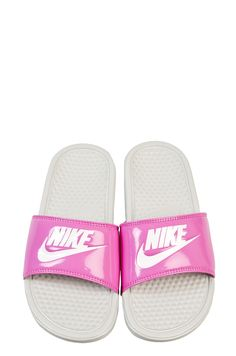 Nike Benassi JDI W bath slippers white