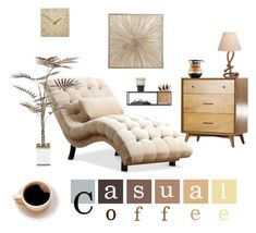 """""""Casual Coffee"""" by ericrasmussen ❤ liked on Polyvore featuring interior, interiors, interior design, home, home decor, interior decorating, Umbra, David Jones and Jayson Home"""