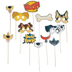 Puppy+Party+Photo+Props+-+OrientalTrading.com