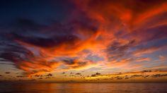 Caribbean Sunset - Just a Caribbean sunset.