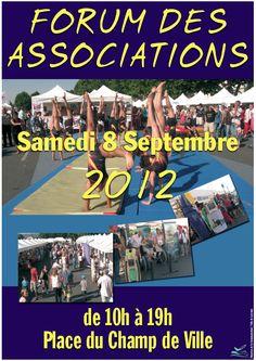 Forum des Associations ce samedi 8 septembre de 10h à 19h place du Champ de Ville à Louviers