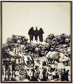 Wallace Berman - Scope, 1965 verifax collage on board