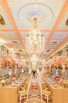 Featured Photographer: Roberta Facchini; Wedding reception ideas.