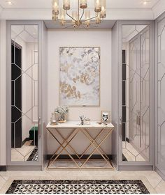 Foyer Design, Home Room Design, Home Interior Design, Living Room Designs, House Design, Home Entrance Decor, House Entrance, Home Decor, Entryway Ideas