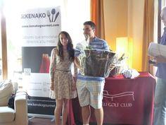 Entrega de premios Torneo Kenako Gourmet #premios #torneo #golf #goiburu#delicatessen